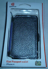 iPhone 4 Griffin Elan Passport Wallet  GB01715  Platinum(1st class p+p)