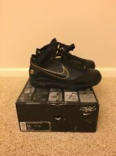 Nike Air Max Lebron 7 VII Black/Gold Promo Sample PE Size 13 Opening Night