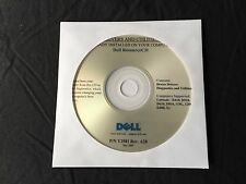 DELL Latitude d610 d810 x1 d400 d510 d410 XP Driver CD DVD Disc