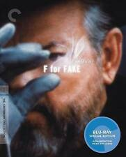 F For Fake (Blu-ray Disc, 2014, Criterion Collection)
