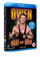 WWE Owen - Hart Of Gold [2 Blu-rays] NEU Blu-ray Bret Hart