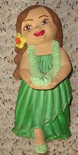 vintage 6.25 inch clay hulagirl figurine.  Hawaii hawaiian