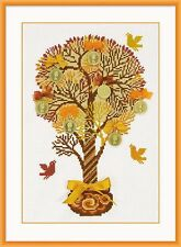 RIOLIS  1294  COUNTED CROSS STITCH KIT - TREE OF MONEY - 21*30 cm