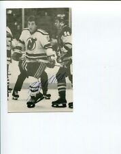 Bob MacMillan New York Rangers New Jersey Devils Flames Signed Autograph Photo