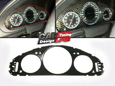 (1)Carbon CF Cluster Dashboard Meter Gauge cover Fits Mercedes Benz W211 E Class