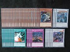 YU-GI-OH 49 CARD STARDUST WARRIOR / SYNCHRON DECK  *READY TO PLAY*