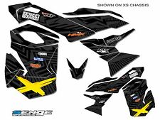 SKI DOO REV XS GRAPHICS KIT SKIDOO BRP DECO WRAP 2013 2014 2015 SKI-DOO RENEGADE