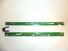 Panasonic TX-P42X60B Pair of Buffer PCB's & Ribbon Connector TNPA5588 TNPA5589
