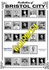 BRISTOL CITY - 1920's PINNACE CARDS TEAM POSTER