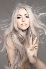 "Lady Gaga Pop Singer ""Highly Entertaining and Innovative"" Canvas Poster 20""x13"""