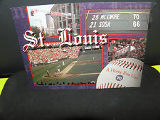 MLB 1998 HOME-RUN DERBY- MCGWIRE-SOSA- ROID RAGE POST CARD