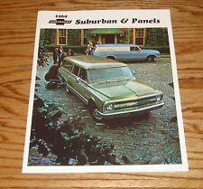 1969 Chevrolet Truck Suburban & Panels Sales Brochure 69 Chevy