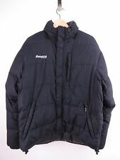 M358 BERGANS DOWN JACKET COAT ORIGINAL PREMIUM WINTER FUNNEL NECK BLACK size M