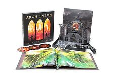 ARCH ENEMY - AS THE STAGES BURN! Limited Deluxe CD+DVD+Blu-ray Box set 3 CD NEW