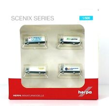 Herpa Wings Airport accessories: catering vehicles (4 pcs) (520577)