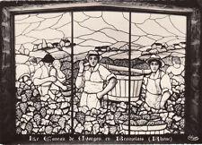 BEAUJOLAIS le caveau de MORGON vitraux
