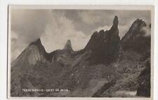 Brazil, Therezopolis, Dedo de Deus RP Postcard, B199
