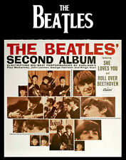 The Beatles Second Album Photo Print 14 x 11""