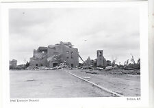 "*Postcard-""1966 Tornado Damage"" /Washburn University @ *Topeka, KS. (#138)"
