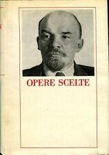V.I. Lenin OPERE SCELTE