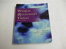 World Religions Today 4th Edition ISBN # 978-0-19-975951-4 Used Condition