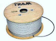 500 feet Coax Cable Low Loss RG8X Bare Copper Braid Center Conductor 8XG