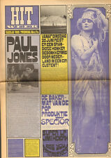 HITWEEK 1967 40 Paul Jones CUBY & Blizzards DADDY's ACT Jimi Hendrix CASTRICUM