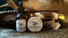 MOUNTAIN MAN OILS BEARD OIL & MUSTACHE WAX COMBO PACK