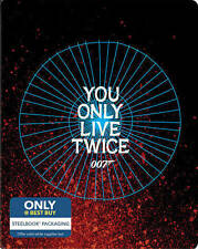 007 You Only Live Twice NEW Bluray Disc Never Played steel book -No Digital