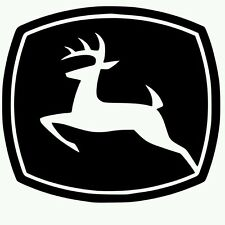 John Deere Vinyl Decal yeti Farming Tractor Sticker (choose color) buy2get1free