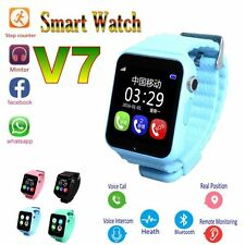 Anti Lost Sleep Monitor Bluetooth GPS IOS Android Smart Kids Watch For Children