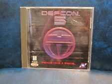 Defcon 5 for PC  Vintage Rare Video Game 1995