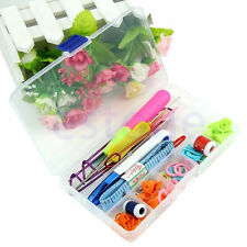 Knitting Tools Crochet Needle Hook Accessories Supplies With Case Knit Kit Y7