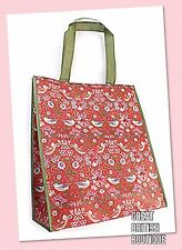 NEW! FABULOUS WILLIAM MORRIS DESIGN SHOPPING BAG- foldaway,re-useable-free post!