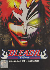 Bleach Complete TV series DVDs Box Set (Episodes 1-366 end) with English Dubbed