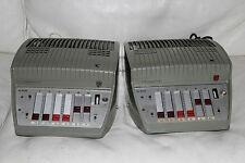 Pair of Philips EL 6425 / 00 tube / valve mono amplifier Klangfilm EL36