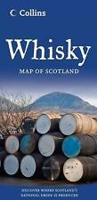 Whisky Map of Scotland by Collins Maps Staff (2014, Paperback, New Edition)
