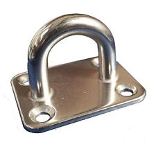 Stainless Steel Eye Plate Boat Deck Fitting - 40mm x 50mm