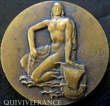 MED3763 - MEDAILLE LA SEINE FOIRE DE PARIS 1956 par MARCEL RENARD