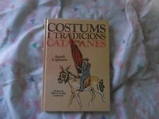 LIBRO COSTUMS I TRADICIONS CATALANES