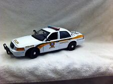 1/18 scale SURETE DU QUEBEC  POLICE DIECAST MODEL  WITH WORKING LIGHTS AND SIREN