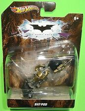 Hot Wheels -Batman *The Dark Knight* BAT-POD Batmobile - 1:50 Scale