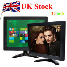 "10"" Inch TFT LCD Color PC TV Screen CCTV Monitor Screen BNC HDMI Video UK STOCK"