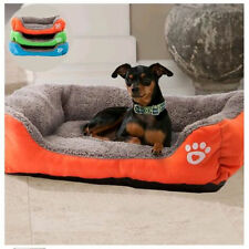 Large Pet Bed Cushion Dog Cat Cage Kennel Crate Warm Cozy Soft House Mat Pad