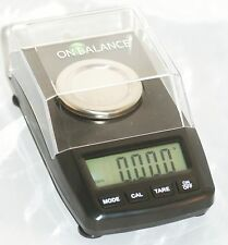 On Balance, Digital Carat Scale [ Max: 50gr - Accuracy: 0.001gr ] Model: CT-250