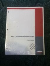 7-2851 - Is A New Parts Catalog For A CaseIH 8825 And 8825HP Windrower Tractor