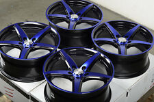 "17"" Effect Wheels Rims 5x114.3 Acura Legend TSX RSX Ford Fusion Flex Mustang"