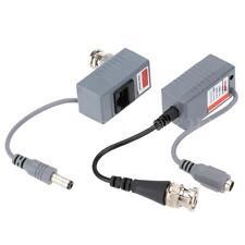 New CCTV Camera UTP RJ45 Video Power Balun Transceiver Cable BNC CAT5/5E/6 H9O2