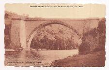 environs de brioude  ,pont de vieille-brioude ,sur l'allier