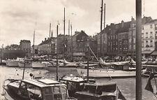 BELGIQUE BELGIUM OSTENDE le bassin des yachts de yachtclub timbre belge 1960